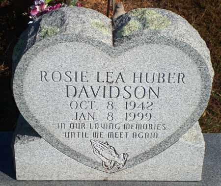 DAVIDSON, ROSIE LEA - Newton County, Arkansas | ROSIE LEA DAVIDSON - Arkansas Gravestone Photos
