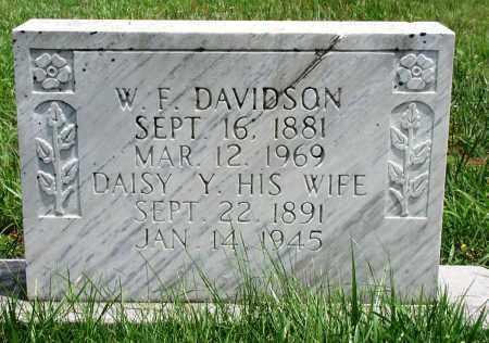 DAVIDSON, DAISY Y - Newton County, Arkansas | DAISY Y DAVIDSON - Arkansas Gravestone Photos