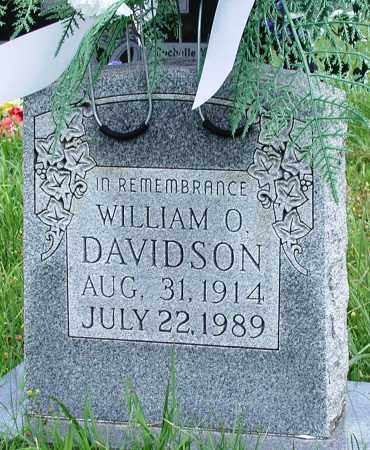 DAVIDSON, WILLIAM O - Newton County, Arkansas | WILLIAM O DAVIDSON - Arkansas Gravestone Photos