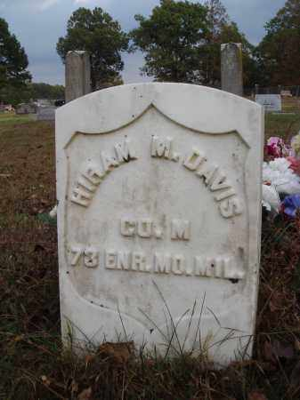 DAVIS  (VETERAN UNION), HIRAM M. - Newton County, Arkansas | HIRAM M. DAVIS  (VETERAN UNION) - Arkansas Gravestone Photos