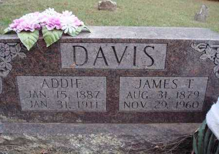 DAVIS, JAMES T. - Newton County, Arkansas | JAMES T. DAVIS - Arkansas Gravestone Photos