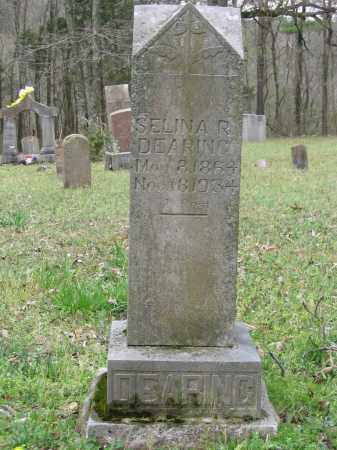 DEARING, SELINA R. - Newton County, Arkansas | SELINA R. DEARING - Arkansas Gravestone Photos