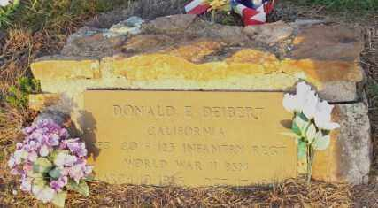 DEIBERT  (VETERAN WWII), DONALD E - Newton County, Arkansas | DONALD E DEIBERT  (VETERAN WWII) - Arkansas Gravestone Photos