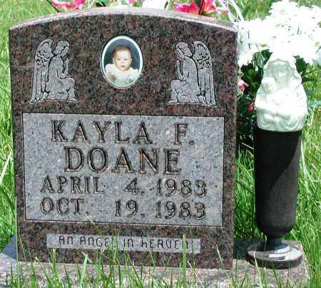DOANE, KAYLA F - Newton County, Arkansas | KAYLA F DOANE - Arkansas Gravestone Photos