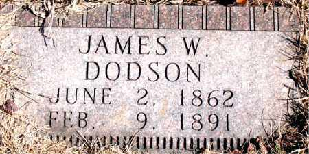 DODSON, JAMES W. - Newton County, Arkansas | JAMES W. DODSON - Arkansas Gravestone Photos