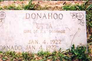 DONAHOO, ETTA - Newton County, Arkansas | ETTA DONAHOO - Arkansas Gravestone Photos
