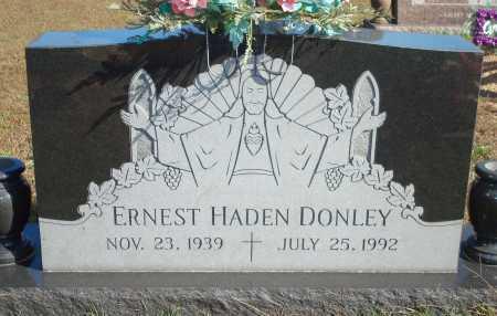 DONLEY, ERNEST HADEN - Newton County, Arkansas | ERNEST HADEN DONLEY - Arkansas Gravestone Photos