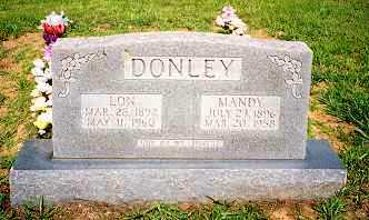 DONLEY, MANDY ISABEL - Newton County, Arkansas | MANDY ISABEL DONLEY - Arkansas Gravestone Photos