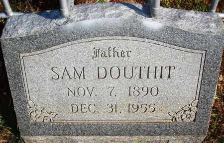DOUTHIT, SAM - Newton County, Arkansas | SAM DOUTHIT - Arkansas Gravestone Photos