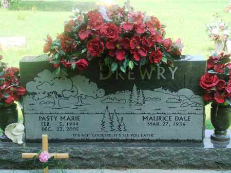 DREWRY, PASTY MARIE - Newton County, Arkansas | PASTY MARIE DREWRY - Arkansas Gravestone Photos