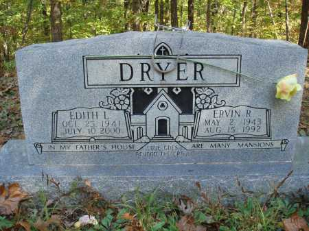 DRYER, EDITH L - Newton County, Arkansas | EDITH L DRYER - Arkansas Gravestone Photos