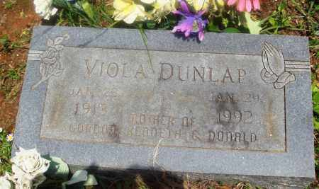 DUNLAP, VIOLA - Newton County, Arkansas | VIOLA DUNLAP - Arkansas Gravestone Photos