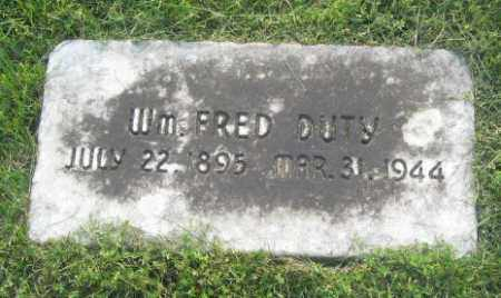 DUTY 2, WILLIAM FRED - Newton County, Arkansas | WILLIAM FRED DUTY 2 - Arkansas Gravestone Photos