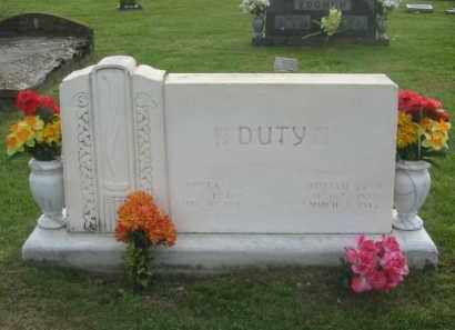 DUTY, WILLIAM FRED - Newton County, Arkansas | WILLIAM FRED DUTY - Arkansas Gravestone Photos