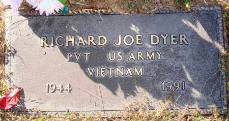 DYER  (VETERAN VIET), RICHARD JOE - Newton County, Arkansas | RICHARD JOE DYER  (VETERAN VIET) - Arkansas Gravestone Photos