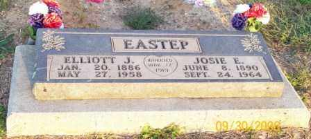 EASTEP, ELLIOTT J. - Newton County, Arkansas | ELLIOTT J. EASTEP - Arkansas Gravestone Photos