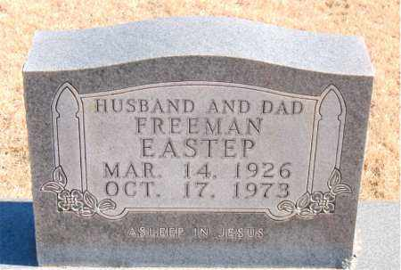 EASTEP, FREEMAN - Newton County, Arkansas | FREEMAN EASTEP - Arkansas Gravestone Photos