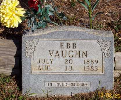 EBB, VAUGHN - Newton County, Arkansas | VAUGHN EBB - Arkansas Gravestone Photos