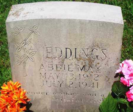 EDDINGS, ABBIE MAY - Newton County, Arkansas | ABBIE MAY EDDINGS - Arkansas Gravestone Photos