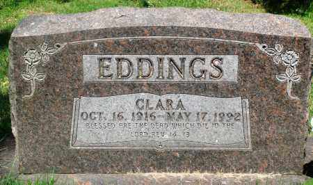 EDDINGS, CLARA - Newton County, Arkansas | CLARA EDDINGS - Arkansas Gravestone Photos