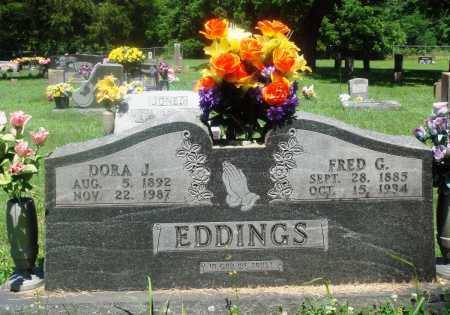 EDDINGS, DORA J - Newton County, Arkansas | DORA J EDDINGS - Arkansas Gravestone Photos