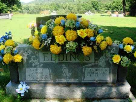 EDDINGS, ERNEST VERNON - Newton County, Arkansas   ERNEST VERNON EDDINGS - Arkansas Gravestone Photos
