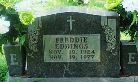 EDDINGS, FREDDIE - Newton County, Arkansas | FREDDIE EDDINGS - Arkansas Gravestone Photos