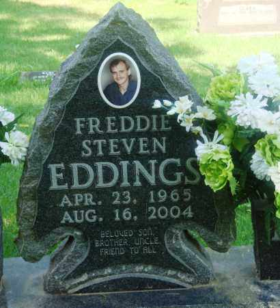 EDDINGS, FREDDIE STEVEN - Newton County, Arkansas | FREDDIE STEVEN EDDINGS - Arkansas Gravestone Photos