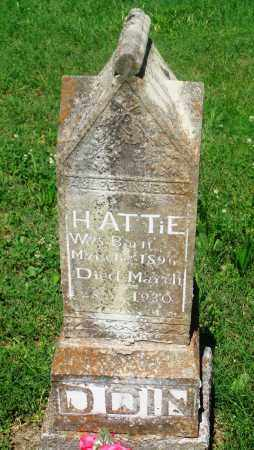 EDDINGS, HATTIE - Newton County, Arkansas | HATTIE EDDINGS - Arkansas Gravestone Photos
