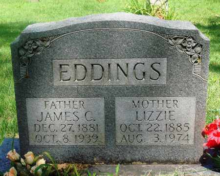 EDDINGS, LIZZIE - Newton County, Arkansas | LIZZIE EDDINGS - Arkansas Gravestone Photos