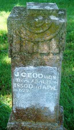 EDDINGS, JOHN CALVIN - Newton County, Arkansas | JOHN CALVIN EDDINGS - Arkansas Gravestone Photos