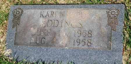 EDDINGS, KAREN LOU - Newton County, Arkansas | KAREN LOU EDDINGS - Arkansas Gravestone Photos