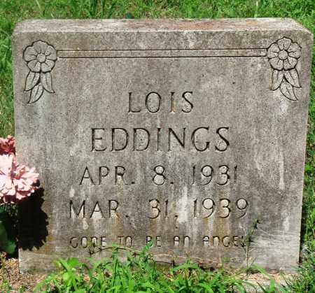 EDDINGS, LOIS - Newton County, Arkansas | LOIS EDDINGS - Arkansas Gravestone Photos