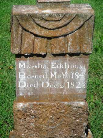 JONES EDDINGS, MARTHA - Newton County, Arkansas | MARTHA JONES EDDINGS - Arkansas Gravestone Photos