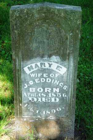 EDDINGS, MARY E - Newton County, Arkansas | MARY E EDDINGS - Arkansas Gravestone Photos