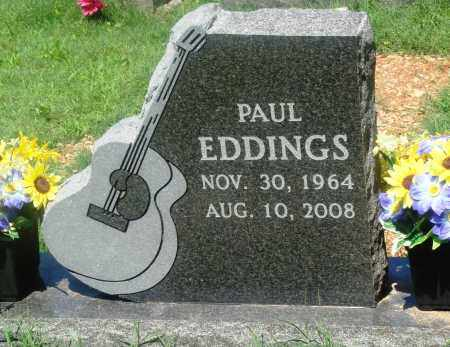 EDDINGS, PAUL - Newton County, Arkansas | PAUL EDDINGS - Arkansas Gravestone Photos