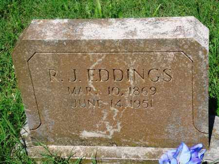 "EDDINGS, R J ""JOBE"" - Newton County, Arkansas 