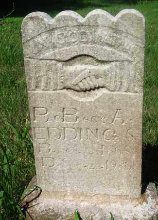EDDINGS, REBECCA - Newton County, Arkansas | REBECCA EDDINGS - Arkansas Gravestone Photos