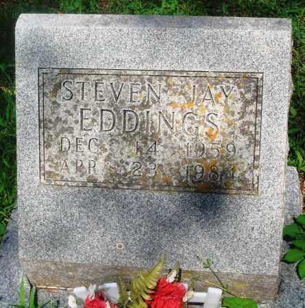 EDDINGS, STEVEN JAY - Newton County, Arkansas | STEVEN JAY EDDINGS - Arkansas Gravestone Photos