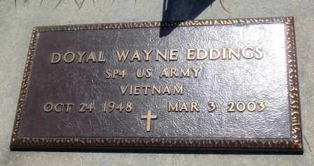 EDDINGS (VETERAN VIET), DOYAL WAYNE - Newton County, Arkansas | DOYAL WAYNE EDDINGS (VETERAN VIET) - Arkansas Gravestone Photos