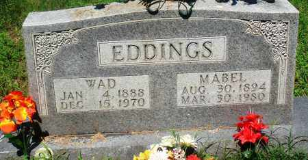 EDDINGS, WAD - Newton County, Arkansas | WAD EDDINGS - Arkansas Gravestone Photos