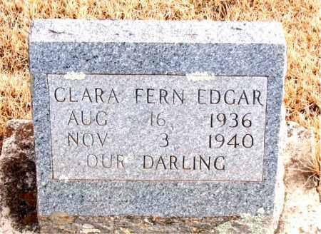 EDGAR, CLARA FERN - Newton County, Arkansas | CLARA FERN EDGAR - Arkansas Gravestone Photos
