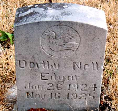 EDGAR, DOROTHY NELL - Newton County, Arkansas | DOROTHY NELL EDGAR - Arkansas Gravestone Photos