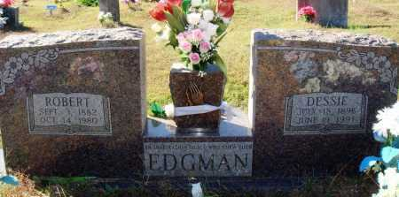 EDGMAN, ROBERT - Newton County, Arkansas | ROBERT EDGMAN - Arkansas Gravestone Photos