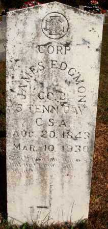EDGMON  (VETERAN CSA), JAMES - Newton County, Arkansas | JAMES EDGMON  (VETERAN CSA) - Arkansas Gravestone Photos
