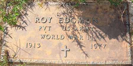 EDGMON  (VETERAN WWII), ROY - Newton County, Arkansas | ROY EDGMON  (VETERAN WWII) - Arkansas Gravestone Photos