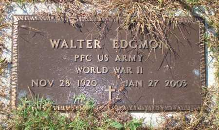 EDGMON  (VETERAN WWII), WALTER - Newton County, Arkansas | WALTER EDGMON  (VETERAN WWII) - Arkansas Gravestone Photos