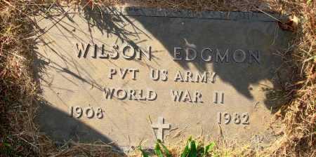EDGMON  (VETERAN WWII), WILSON - Newton County, Arkansas | WILSON EDGMON  (VETERAN WWII) - Arkansas Gravestone Photos