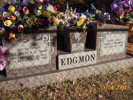 WATSON EDGMON, NOLA FAYE - Newton County, Arkansas | NOLA FAYE WATSON EDGMON - Arkansas Gravestone Photos