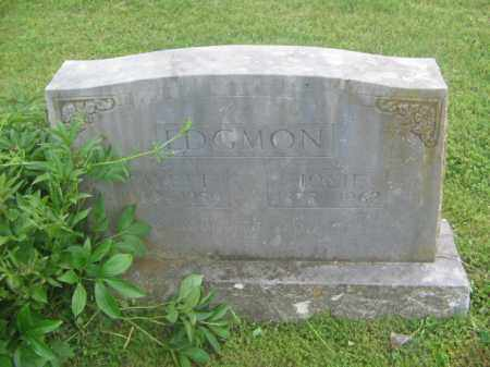 EDGMON, FAYETTE - Newton County, Arkansas | FAYETTE EDGMON - Arkansas Gravestone Photos